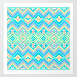 Geometric Psychadelus Art Print