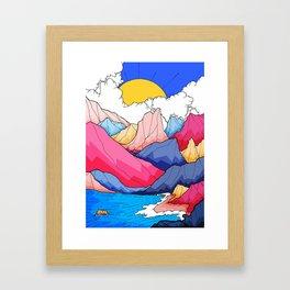 Highlands Framed Art Print