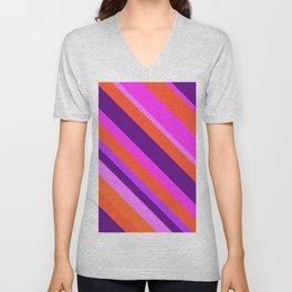Dynamic violet Unisex V-Neck
