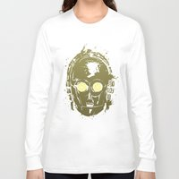c3po Long Sleeve T-shirts featuring C3PO by Peyeyo
