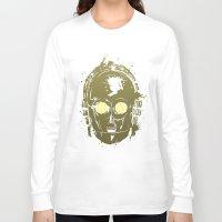 c3po Long Sleeve T-shirts featuring C3PO by Peyeyo