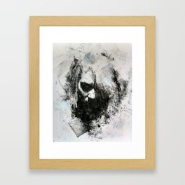 M.M. (no. 3) Framed Art Print