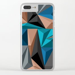 Polygon 2 Clear iPhone Case