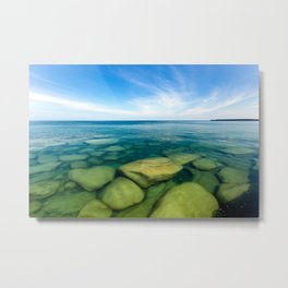 Lake Superior Rock Paradise Metal Print
