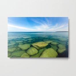 Lake Superior Rock Paradise Metal Print