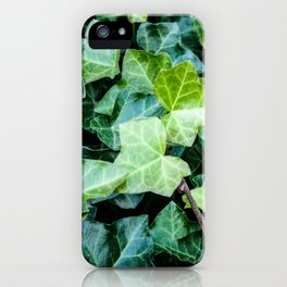 Green Ivy Photography Print iPhone Case