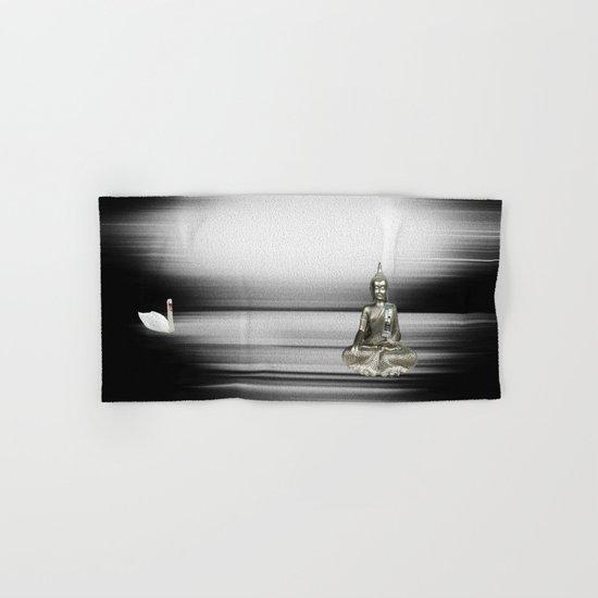Buddha with swan Hand & Bath Towel