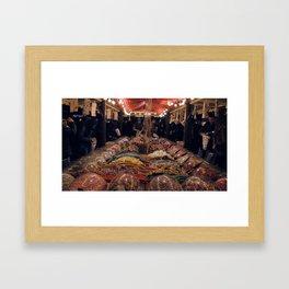 Southbank Sweet Stall Photograph Framed Art Print