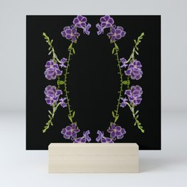 Botanical Kaleidoscope 5 Mini Art Print