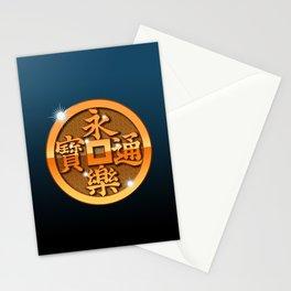 Metal Eiraku-sen Stationery Cards