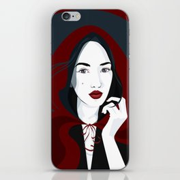 Great Red Riding Hood iPhone Skin