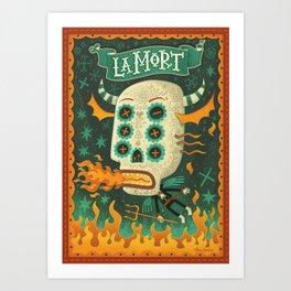 La Mort Art Print
