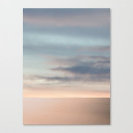 Somewhere. Sea & Sky scape abstract Canvas Print