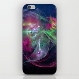Magnetic fields iPhone Skin