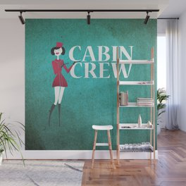 Cabin Crew Wall Mural