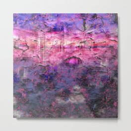 Rose Mist Sunrise Metal Print