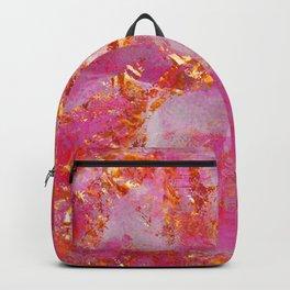 Dauntless Pink | Vivid Abstract Backpack