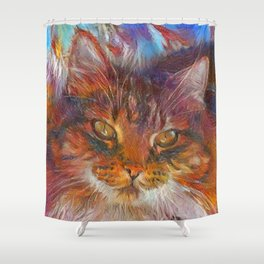 Floof Shower Curtain