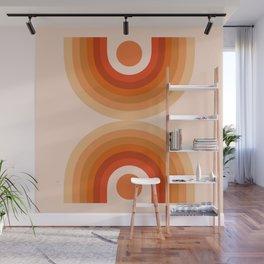 Abstraction_SUN_Rainbow_Minimalism_006 Wall Mural