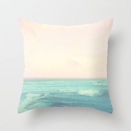 Sea Salt Air Throw Pillow