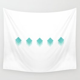 Fading Geometry  Wall Tapestry