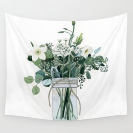 Forest Bouquet Wall Tapestry
