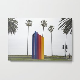 Chromatic Gate, Santa Barbara, California Metal Print
