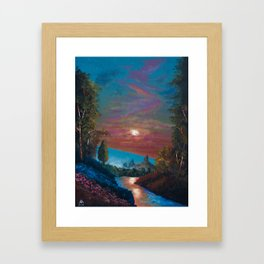The Last Twilight Framed Art Print