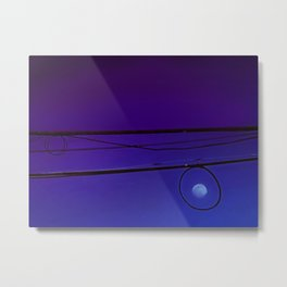 Moonrise on the high wire Metal Print