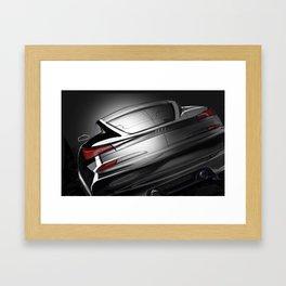 Rear Studio Spotlight Framed Art Print