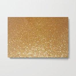 All That Glitters Metal Print