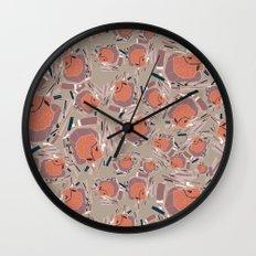 BP 46 Abstract Wall Clock