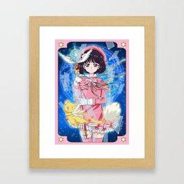 Card Captor Hotaru Framed Art Print