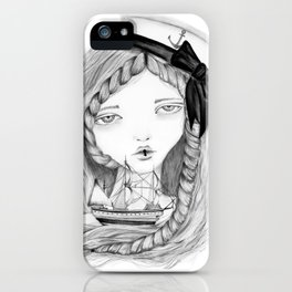 Loose Lips Sink Ships iPhone Case