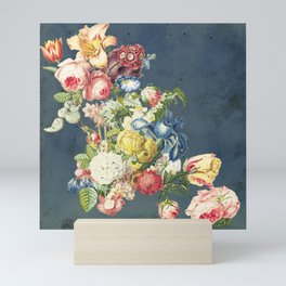 Floral Tribute to Louis McNeice Mini Art Print