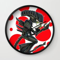 URBNPOP Aliens Attack Wall Clock