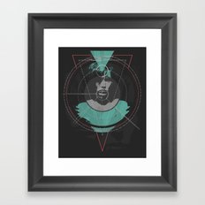 The Mark Framed Art Print