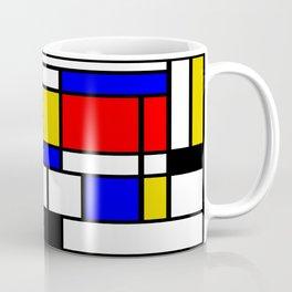 Art work inspired to P. Mondrian (n.1) Coffee Mug