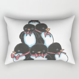 Penguin Tree Rectangular Pillow