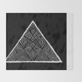 Root Two Triangle  Throw Blanket
