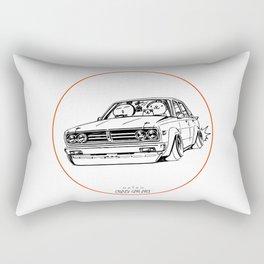 Crazy Car Art 0222 Rectangular Pillow