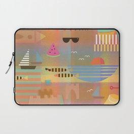 Sandcastles Bauhaus Style Laptop Sleeve