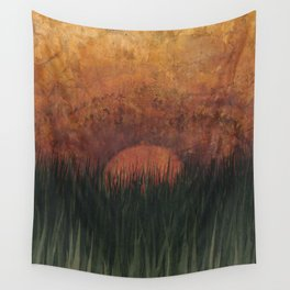 To Plumb the Depths Wall Tapestry
