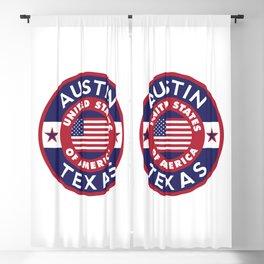 Austin, Texas Blackout Curtain