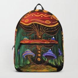 A Mushroom World Backpack