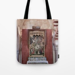 Conjoined Faiths (Mosque-Cathedral of Cordoba) Tote Bag