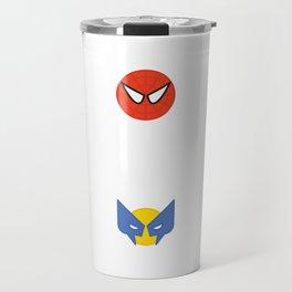 My Favorite Superheroes Travel Mug