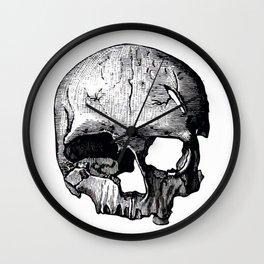 Skull 8 Wall Clock