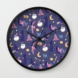 Dark Halloween Wall Clock