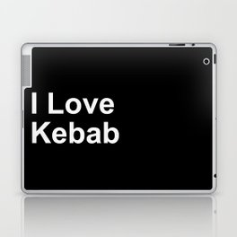I Love Kebab Laptop & iPad Skin